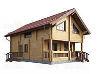 Проект дома в норвежском стиле 172 м2, фото 1