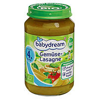 Babydream Bio Menü Gemüselasagne - Био меню Овощная лазанья, с 4 месяца, 190 г