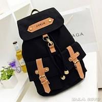 Рюкзак міський жіночий Retro black (чорний)