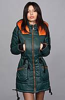Утепленная на силиконизированном синтепоне куртка парка
