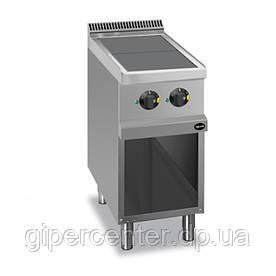 Электрическая напольная плита Apach APRE-47QP, 2 конфорки, 400х700х850 мм