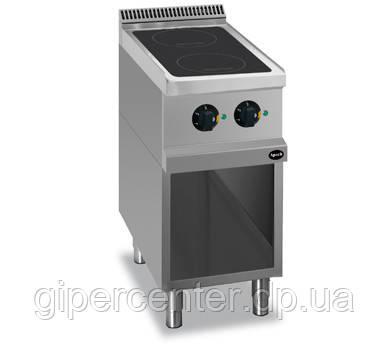 Напольная индукционная плита без духовки Apach APRI-47P с двумя конфорками