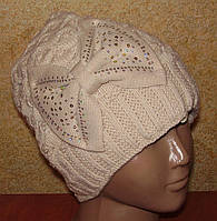 Теплая зимняя шапка на флисе