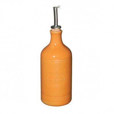 Бутылка для масла Emile Henry оранжевая 0,45 л 860215