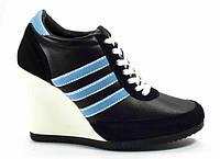 Кроссовки на платформе Adidas, фото 1