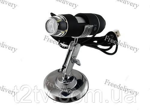 Цифровой USB микроскоп 500Х, эндоскоп, бороскоп - Онлайн Гипермаркет Т2ТВ в Киеве