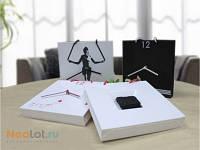 Настенные электронные часы Бумажный пакет