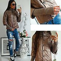 Куртка женская, модель 205, кофе