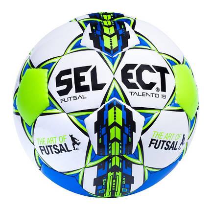Мяч детский футзальный мини-футбольный  Select Futsal Talento 13, фото 2