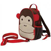 Рюкзак с поводком Skip Hop Мартышка