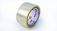 Скотч упаковочный прозрачный белый, 48 мм*66 м