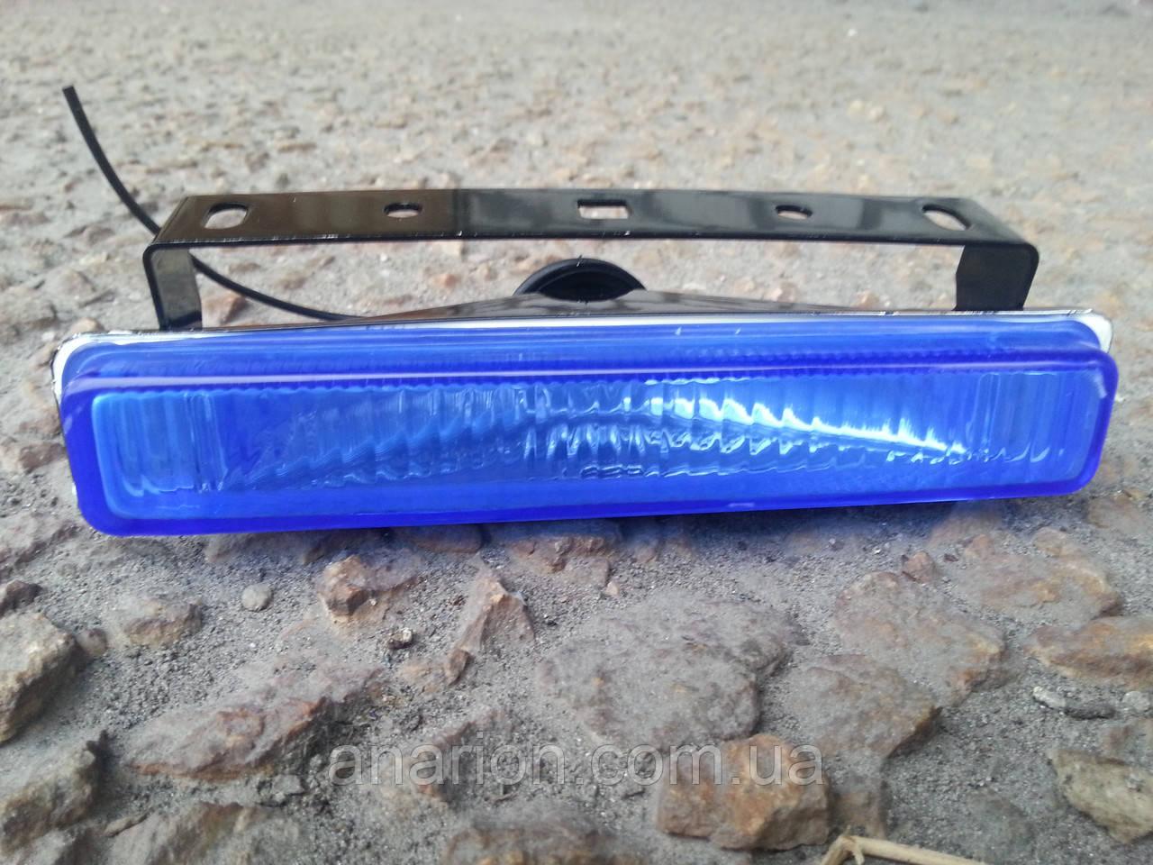 Противотуманные фары для узкого проема №0209 (синие)