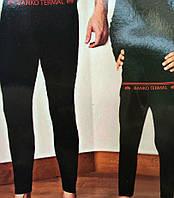 Детский теплые подштанники черного цвета 1310