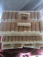 Ватные ушные палочки дерево 100 шт/уп