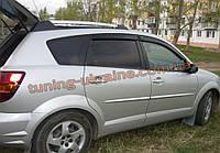 Дефлекторы окон (ветровики) COBRA-Tuning на PONTIAK VIBE I 2002-08