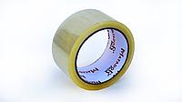 Скотч упаковочный прозрачный желтый, 48 мм*66 м