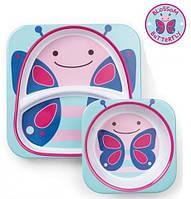 Набор тарелок Skip Hop Бабочка