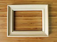 "Деревянная рамка 40х40 см (липа ""Классик"" 35 мм), фото 1"