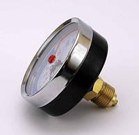 Термоманометр осевой ИМТ-10 bar-0-120°С-2,6 G1/2 (О), ТМ Стеклоприбор, Украина