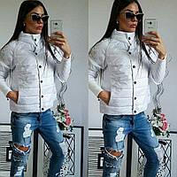 Куртка женская,  модель 205, белый 42