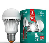 Лампа TITANUM LED 9w E27 4100K