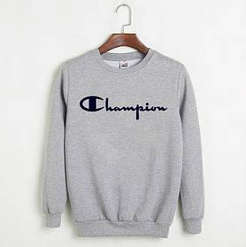 Мужской Свитшот Champion (серый)