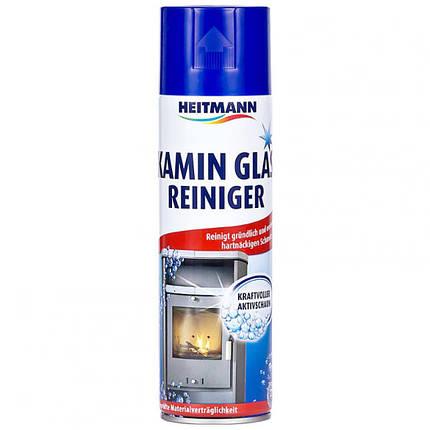 Камин гласрайнигер очиститель каминного стекла Heitmann 500мл, фото 2