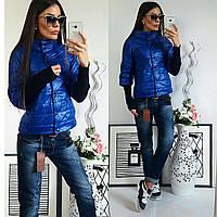 Куртка женская,  модель 205, синий 42