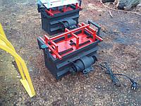 Станок для производства шлакоблоков с вибро двигателем