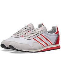 Оригинальные  кроссовки Adidas SPZL Harwood Clear Grey & Ray Red
