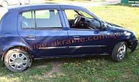 Дефлекторы окон (ветровики) COBRA-Tuning на RENAULT CLIO HB 5D 2005-2012