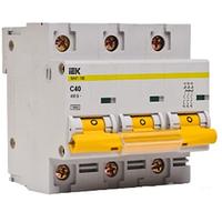 ИЕК  автоматический выключатель ВА 47-100, 3п.40А,С