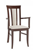 Деревянное кресло с подлокотниками Paged Silento