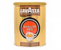 Кофе молотый Lavazza Qualita Oro / железная банка, 250г.