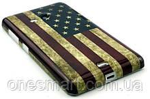 Чехол для Lumia 535 флаг Америки