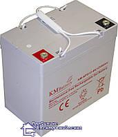 Гелева акумуляторна батарея KMbattery NPG 12-60, фото 1
