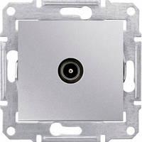 Розетка телевизионная одиночная, алюминий - Schneider Electric Sedna (SDN3201660)
