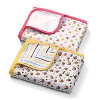 Мягкое двухслойное одеяло из фланели (2 вида) 75х100см, BabyOno