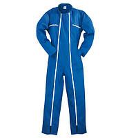 Комбинезон защитный FACTORY 2 zipper, голубой. Размер XL (52/54)