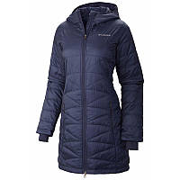 Женская куртка-пальто Columbia  MIGHTY LITE™ HOODED JACKET темно-синяя