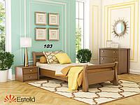 Кровать Диана Бук односпальная Щит 103 (Эстелла-ТМ)
