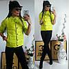 Куртка женская с рукавом 3/4, модель  202, салатовый