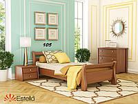 Кровать Диана односпальная Бук Щит 105 (Эстелла-ТМ)