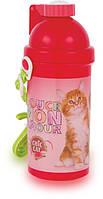 """Бутылочка с трубочкой """"Chic Cat (котик Шик)"""""""