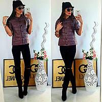 Куртка женская с рукавом 3/4, модель  202, фреза