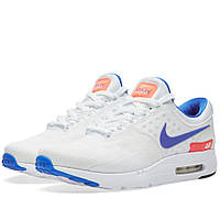 Оригинальные  кроссовки Nike Air Max Zero QS White & Ultramarine