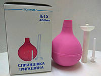 Спринцовка гинекологическая (ирригационная) ИБ 15 / Поликом
