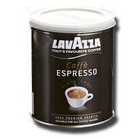 Кофе молотый Lavazza Caffe Espresso / железная банка, 250г.