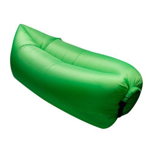 Надувной шезлонг диван мешок Ламзак Lamzac AIR CUSHION зеленый