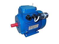 Электродвигатель АИРМУТ63А4 (однофазный общепромышленного назначения с комплектацией, 0.25 кВт,1500 об.мин)